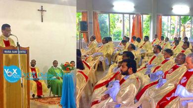 Photo of നെയ്യാറ്റിന്കര രൂപതാ വൈദികരുടെ ധ്യാനം ഇന്ന് സമാപിക്കും