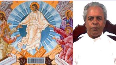 Photo of EASTER MESSAGE :Msgr. G. Christudas, Vicar General