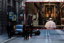 Photo of കൊറോണ പകർച്ചവ്യാധിയുടെ നിർമ്മാർജ്ജനത്തിനായി പ്രാർത്ഥനയോടെ തീർത്ഥാടകനായി ഫ്രാൻസിസ് പാപ്പാ