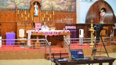 Photo of ജനരഹിത ദിവ്യബലികളുമായി വ്ളാത്താങ്കര മരിയന് തീര്ഥാടന കേന്ദ്രം; വിശുദ്ധവാര തിരുകർമ്മങ്ങൾ സമൂഹ മാധ്യമങ്ങളിലൂടെ