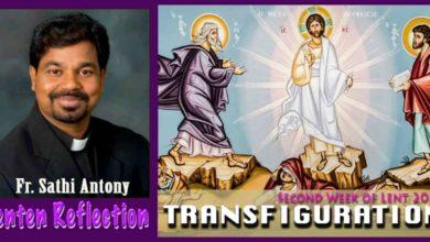 Photo of 2nd Sunday of Lent_Year B_TRANSFIGURATION