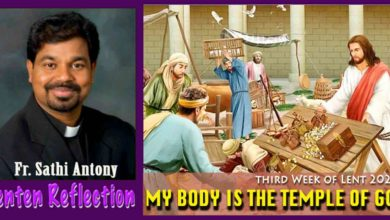 Photo of 3rd Sunday of Lent_Year B_MY BODY IS THE TEMPLE OF GOD