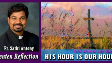 Photo of 5th Sunday of Lent_Year B_HIS HOUR IS OUR HOUR