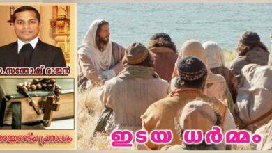 Photo of 16th Sunday Ordinary_Year B_ഇടയധർമ്മം